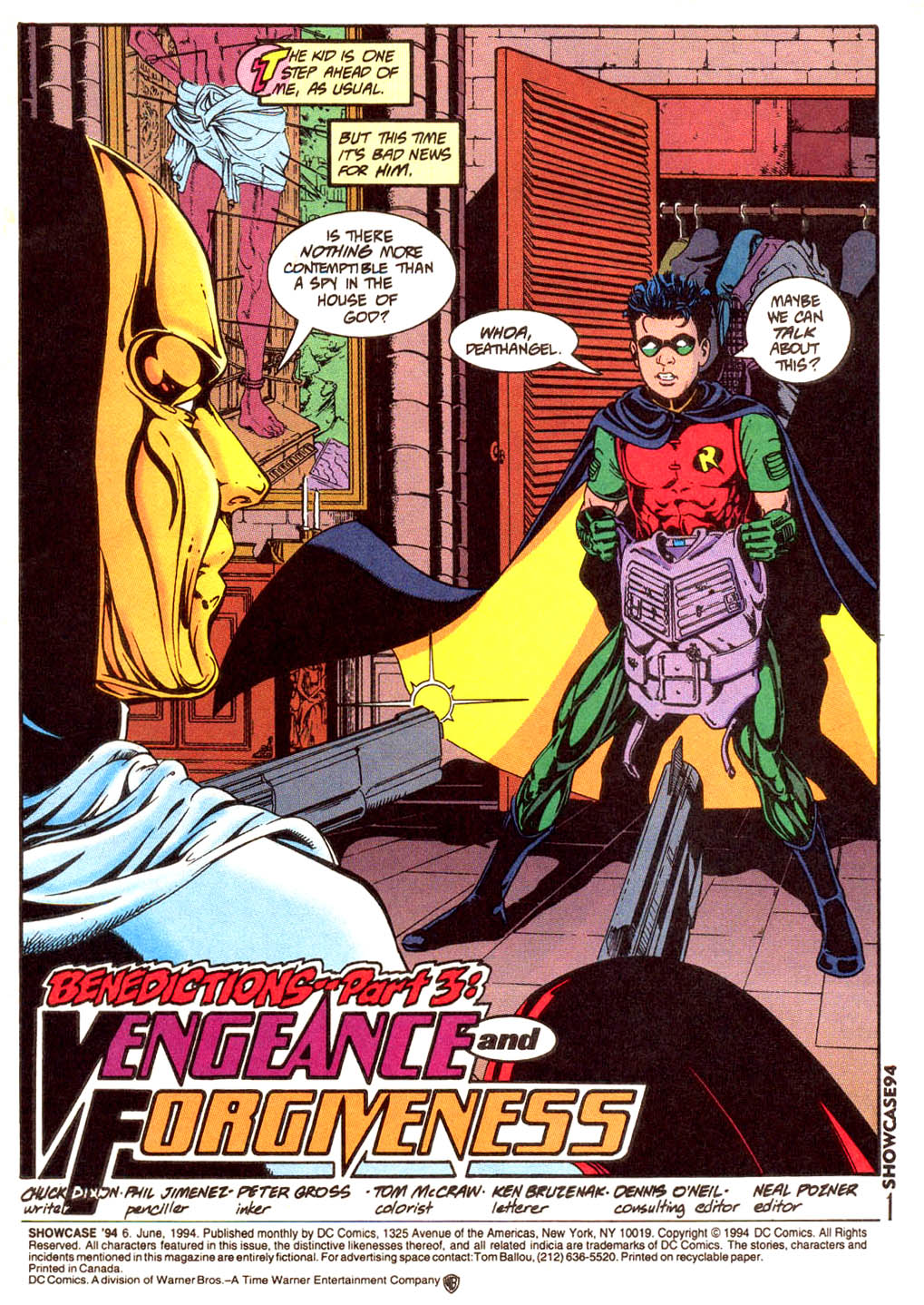 Read online Showcase '94 comic -  Issue #6 - 2