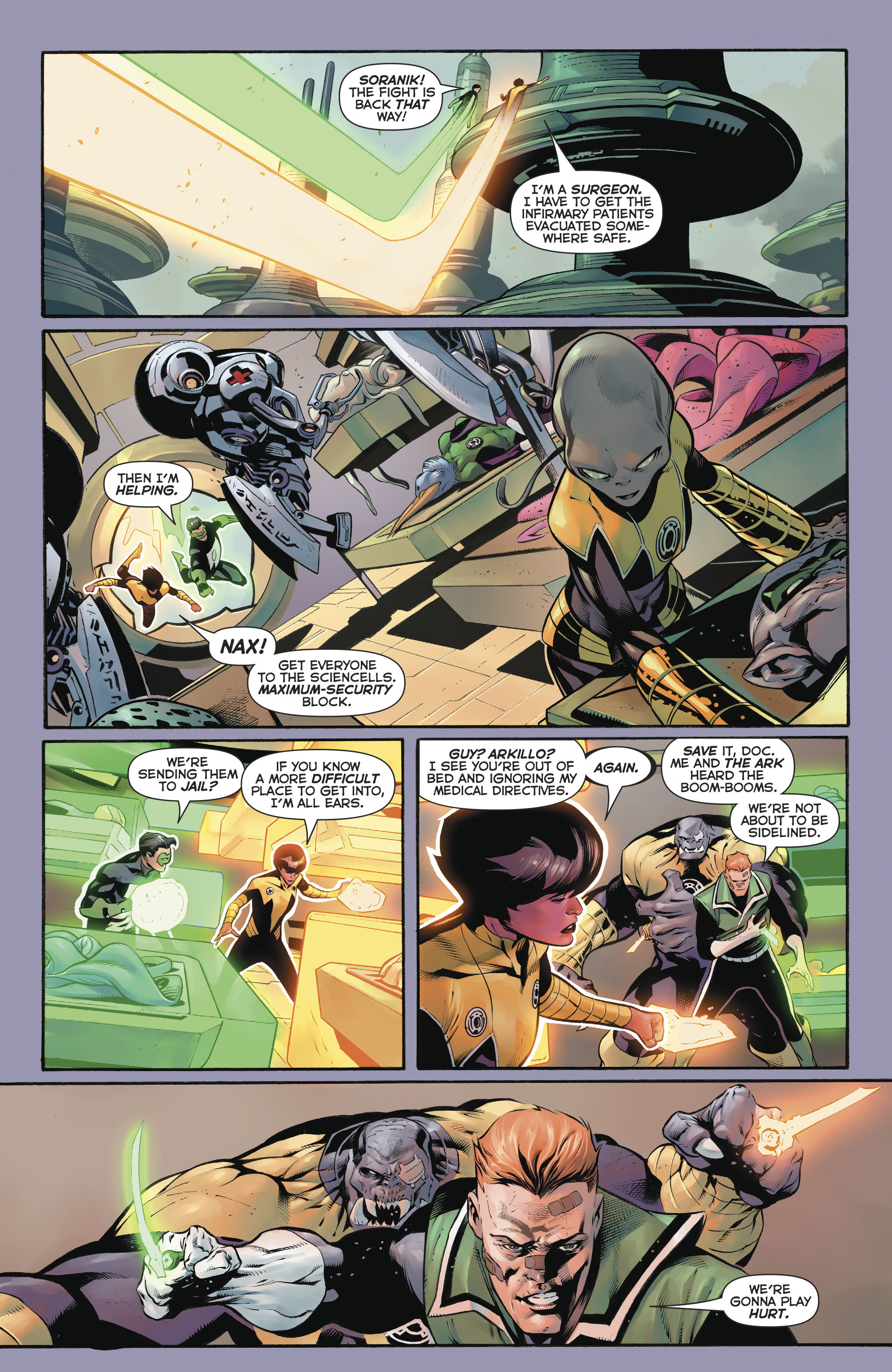 Read online Hal Jordan And The Green Lantern Corps comic -  Issue #20 - 17
