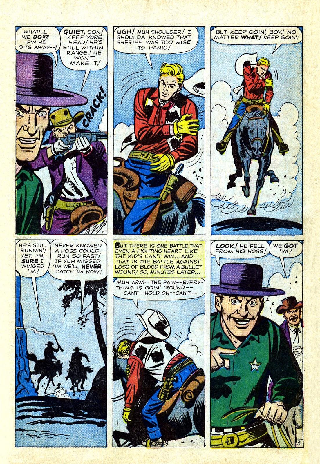 Gunsmoke Western issue 75 - Page 5
