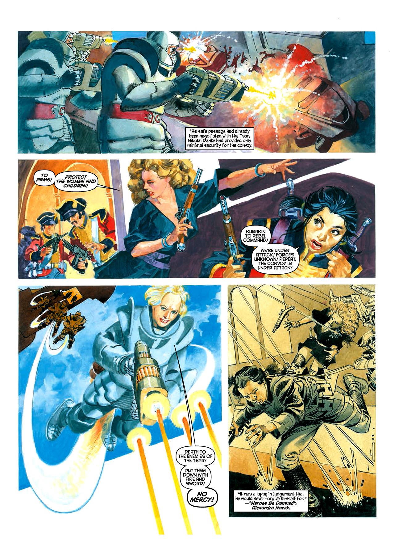 Read online Nikolai Dante comic -  Issue # TPB 10 - 38