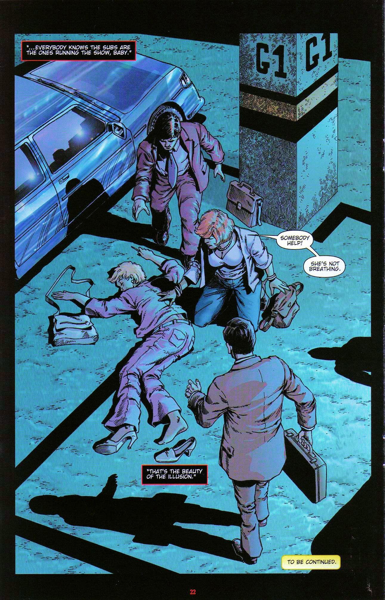 Read online Dominatrix comic -  Issue #3 - 24