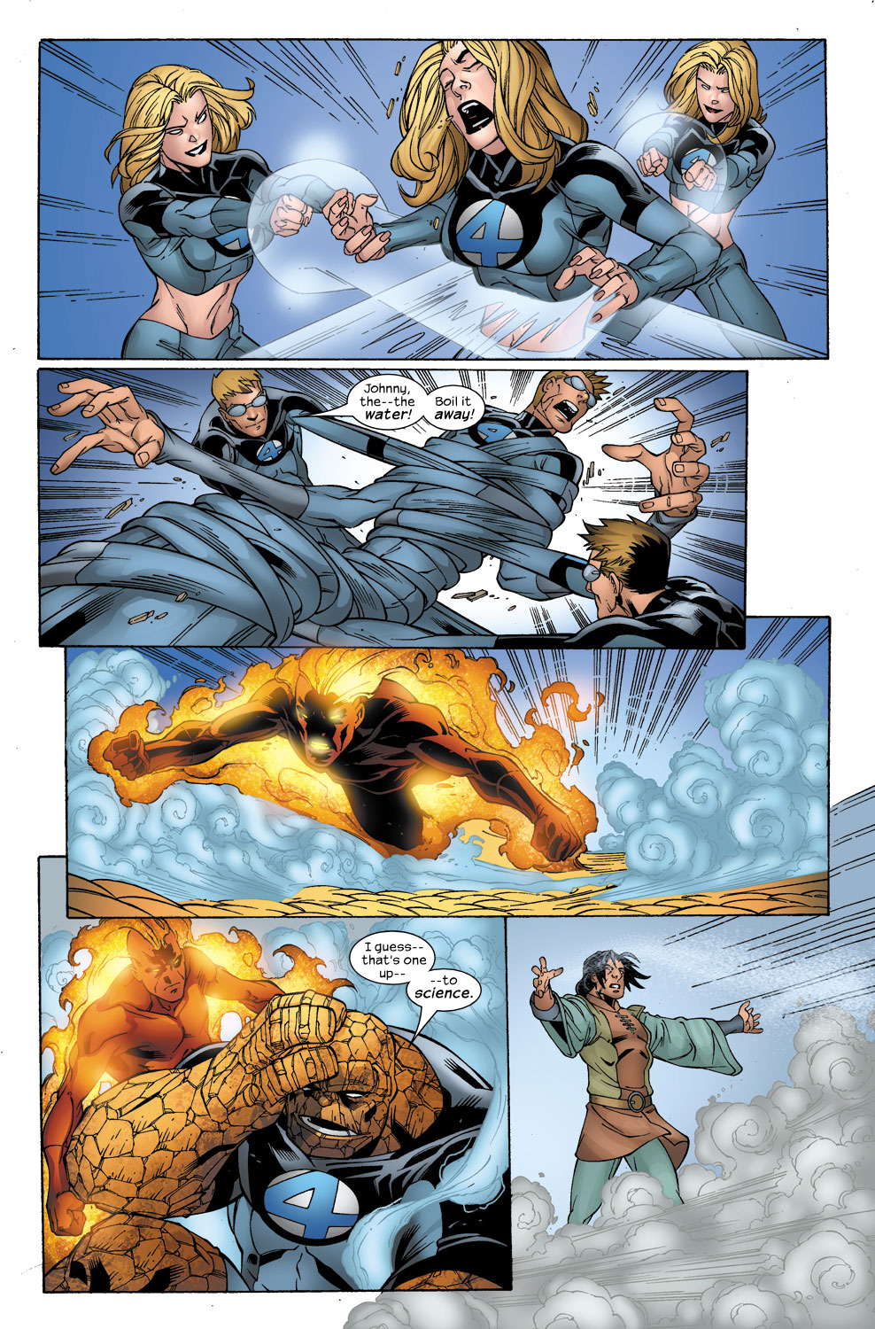 Read online Ultimate Fantastic Four (2004) comic -  Issue #40 - 19
