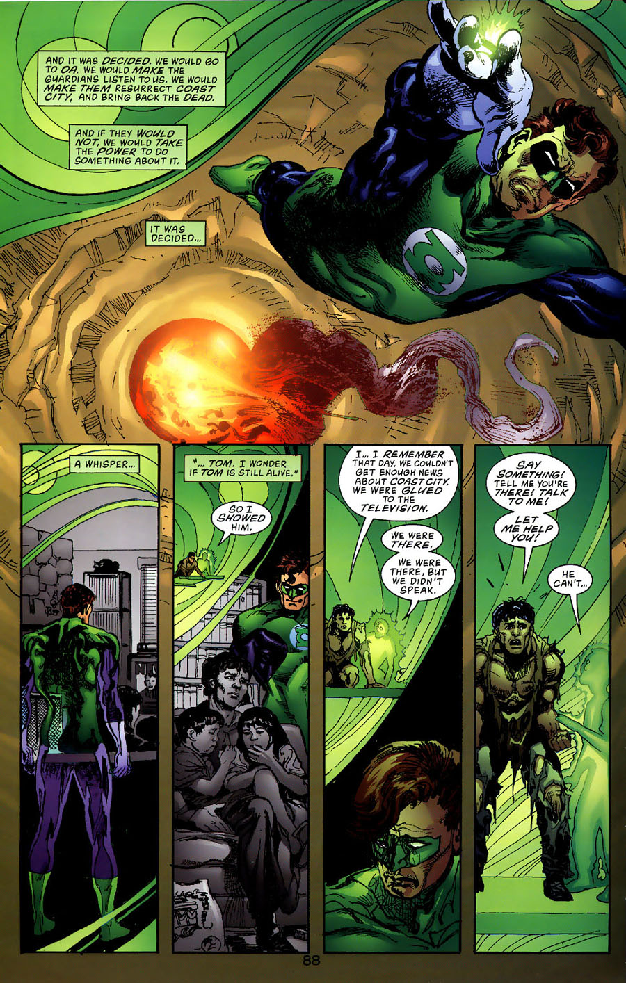 Read online Green Lantern: Legacy: The Last Will and Testament of Hal Jordan comic -  Issue # TPB - 94