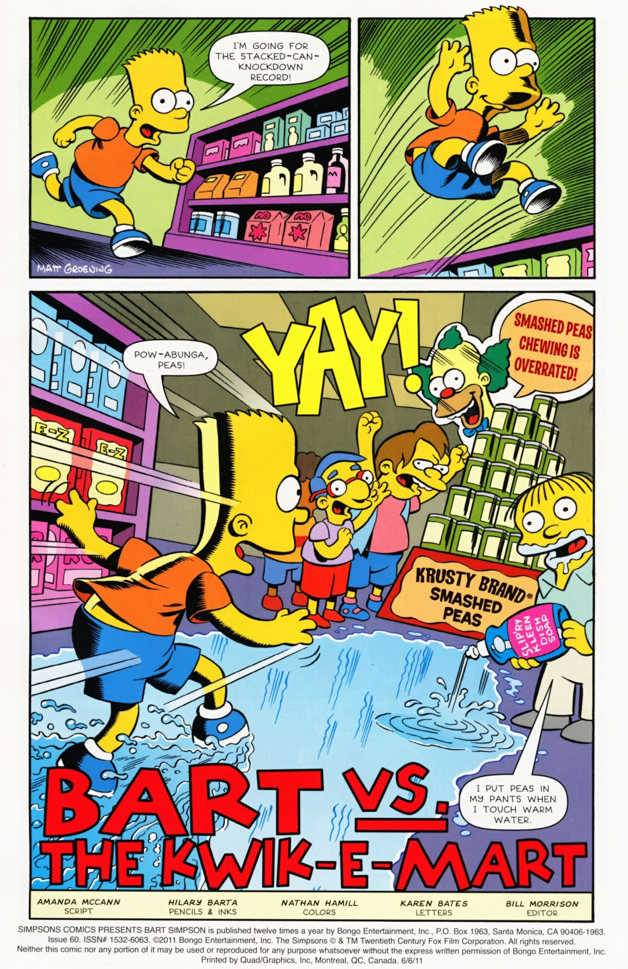 Read online Simpsons Comics Presents Bart Simpson comic -  Issue #60 - 2