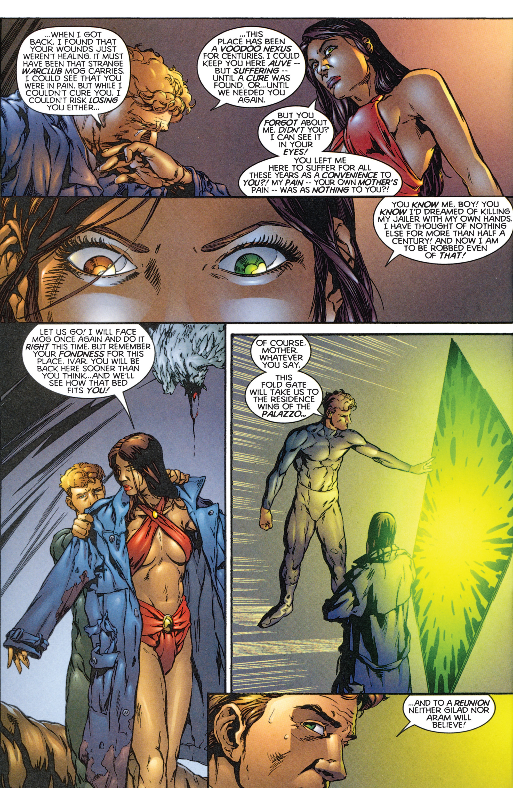 Read online Eternal Warriors comic -  Issue # Issue The Immortal Enemy - 9