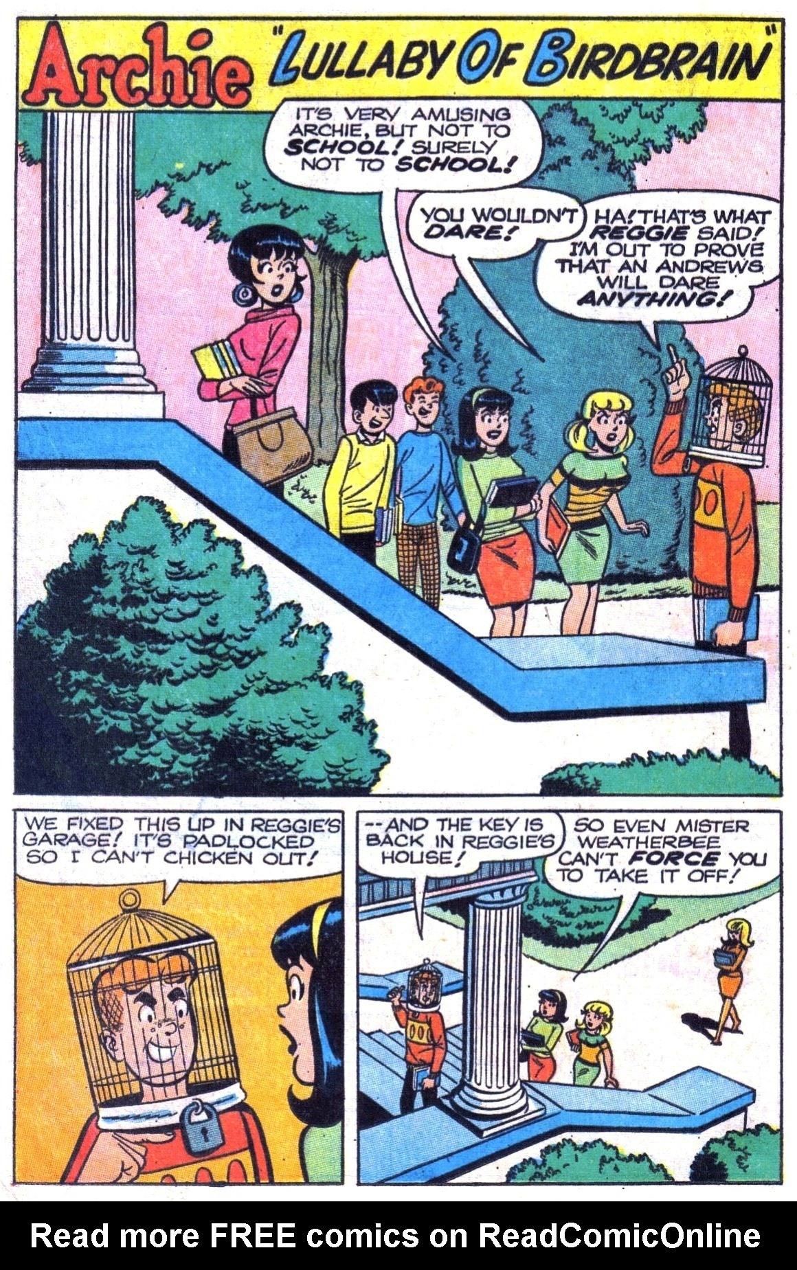 Read online Archie (1960) comic -  Issue #180 - 20