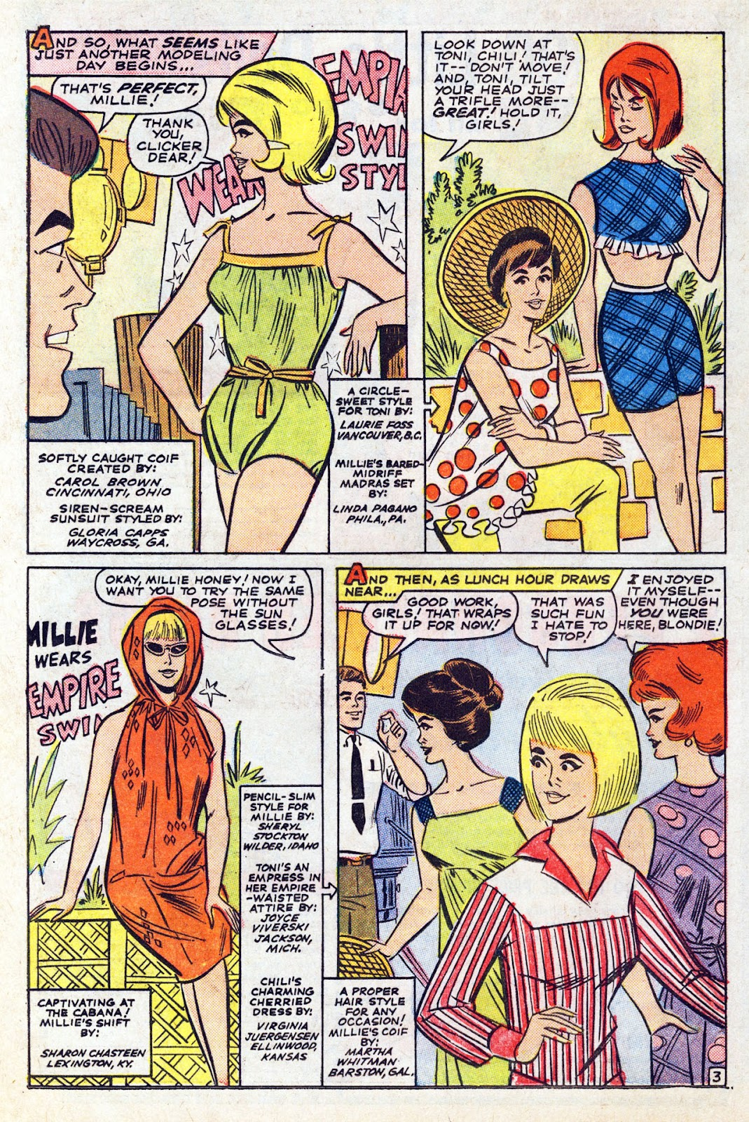 Read online Millie the Model comic -  Issue # Annual 5 - 46