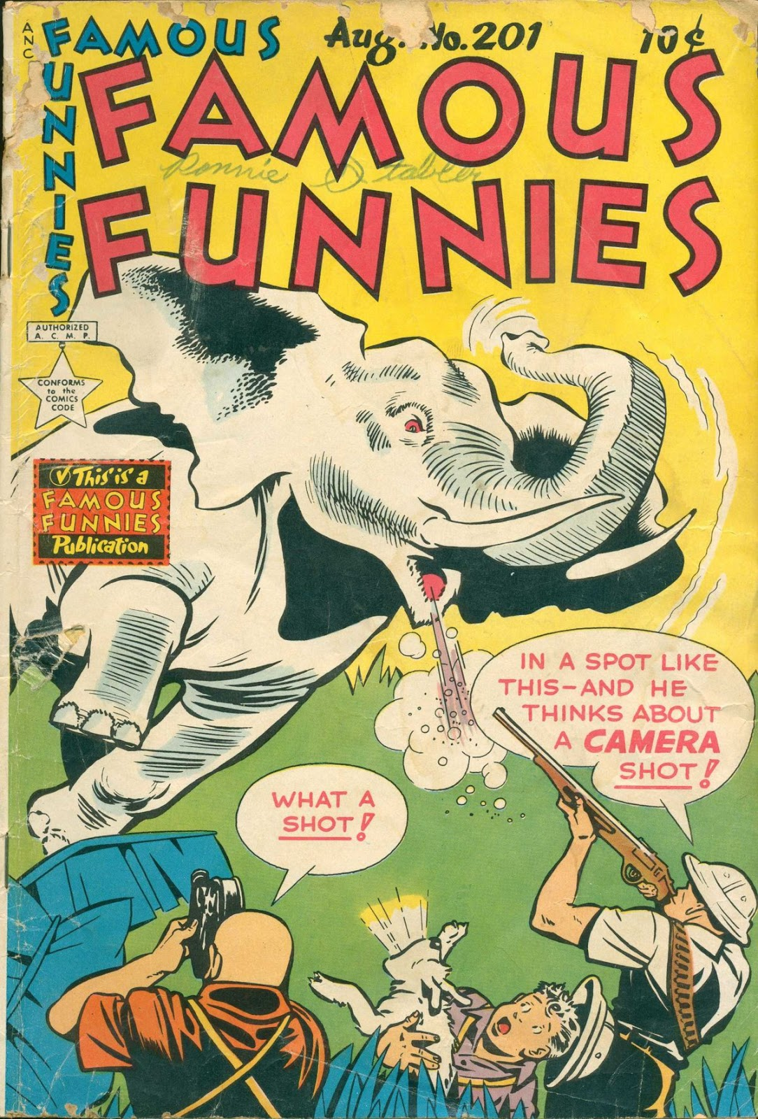 Read online Famous Funnies comic -  Issue #201 - 1