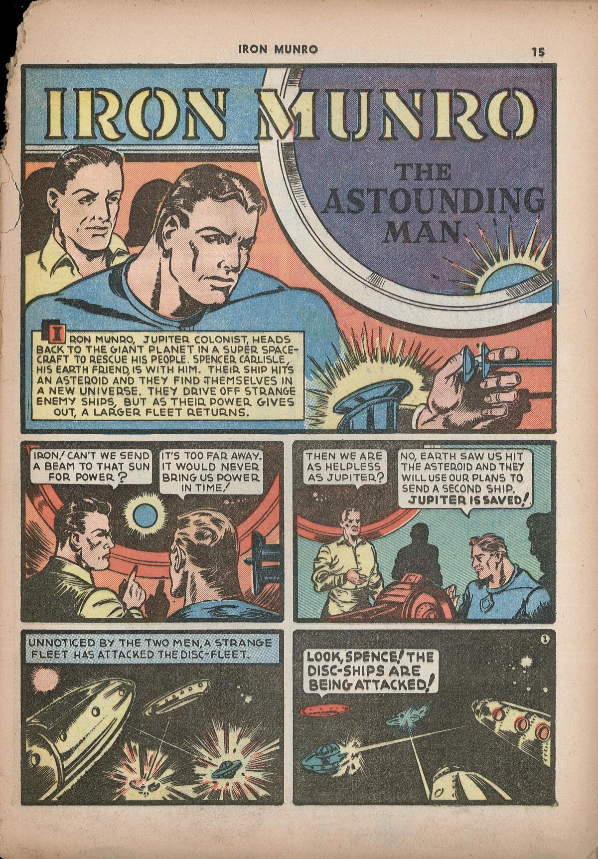 Read online Shadow Comics comic -  Issue #2 - 18