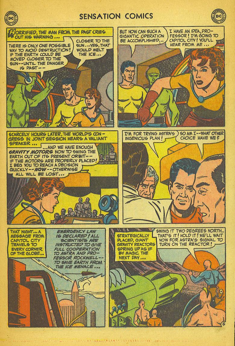 Read online Sensation (Mystery) Comics comic -  Issue #104 - 31