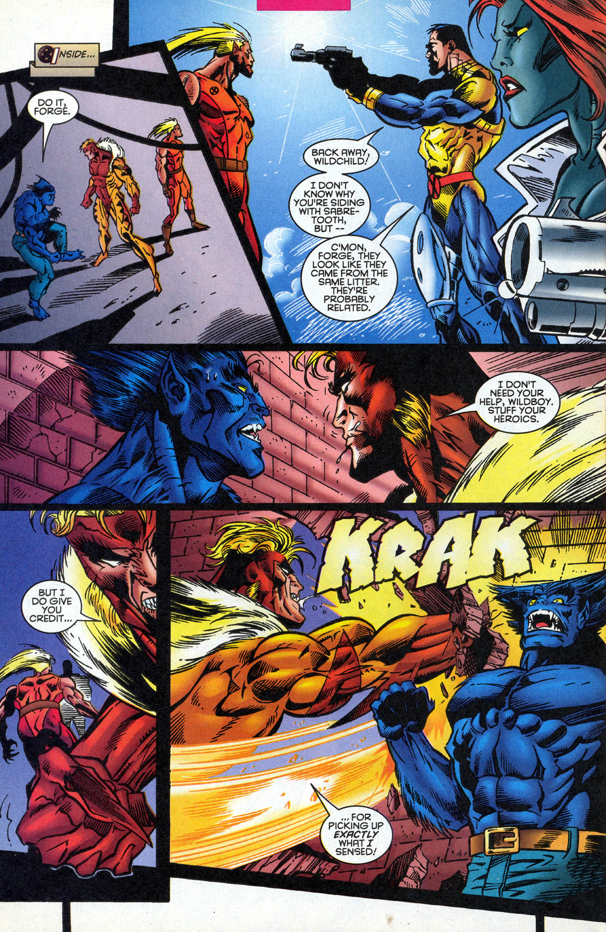 Read online X-Factor (1986) comic -  Issue #126 - 28