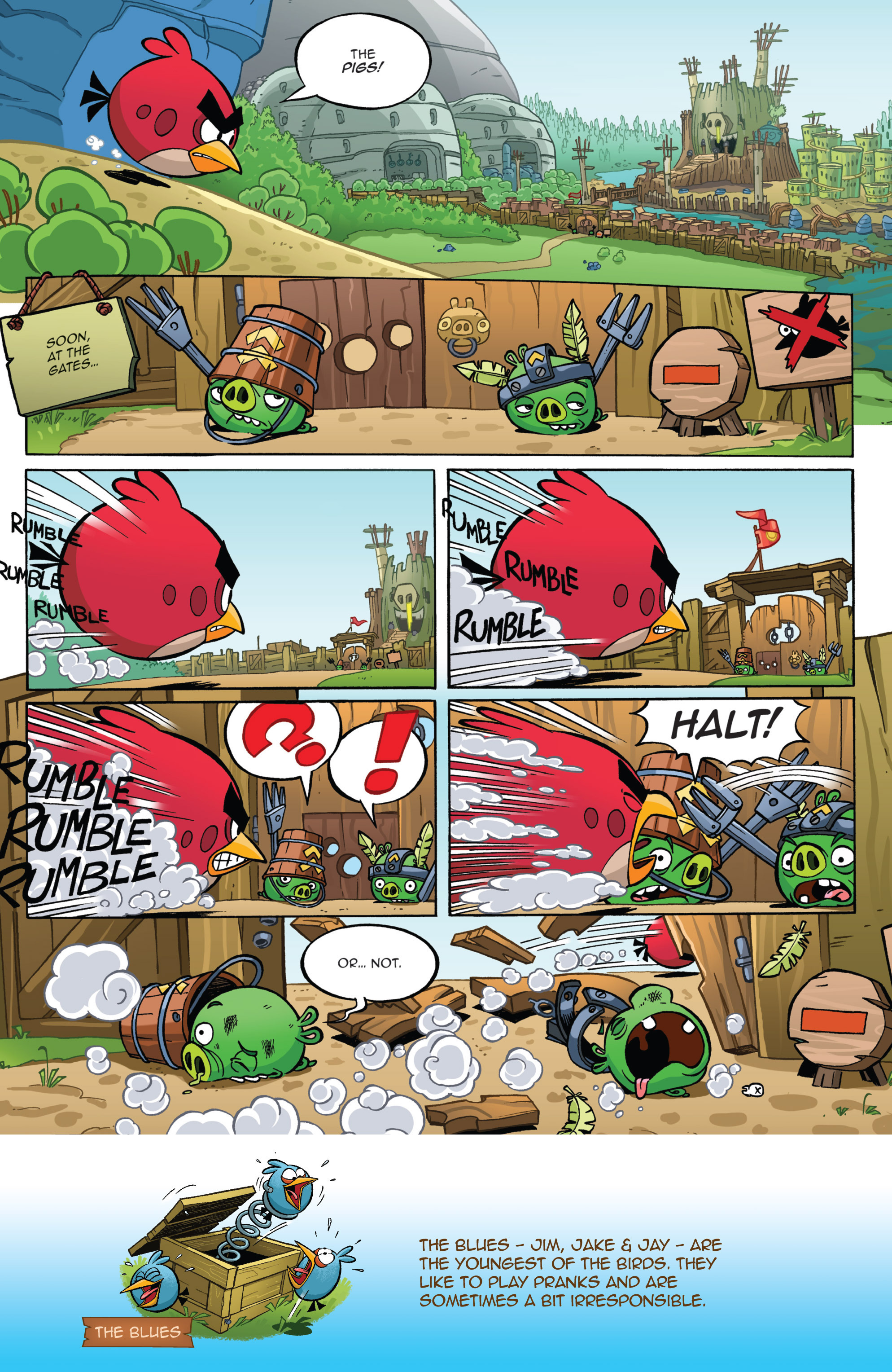 Read online Angry Birds Comics (2016) comic -  Issue #1 - 8