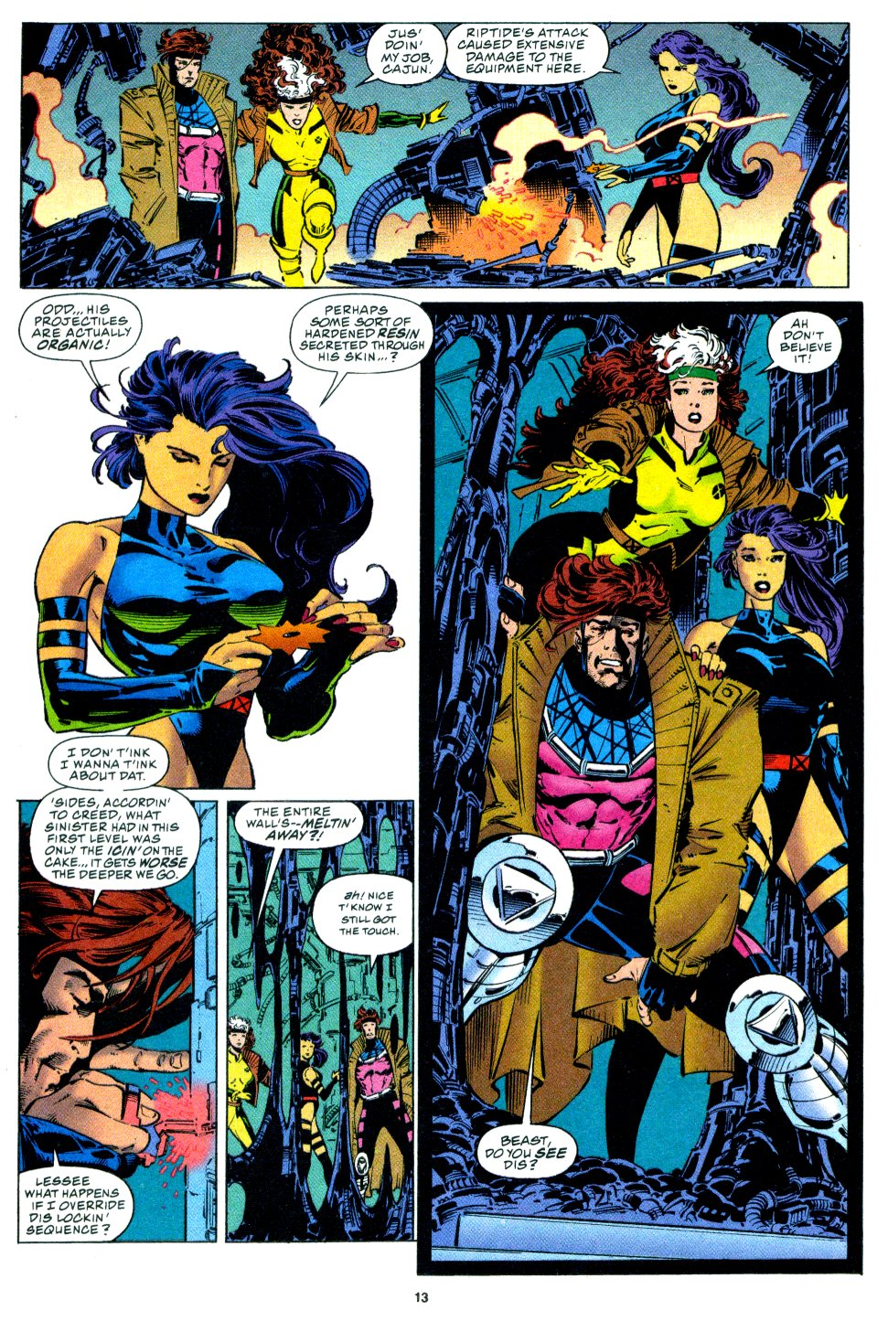 X-Men (1991) 34 Page 9