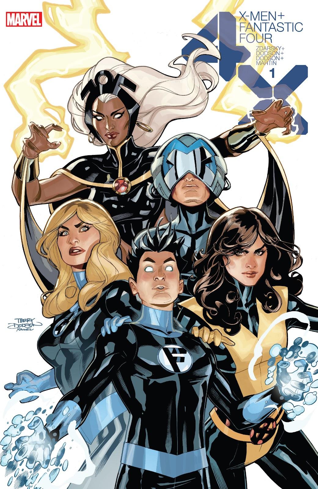 X-Men/Fantastic Four (2020) issue _Directors_Cut - Page 1