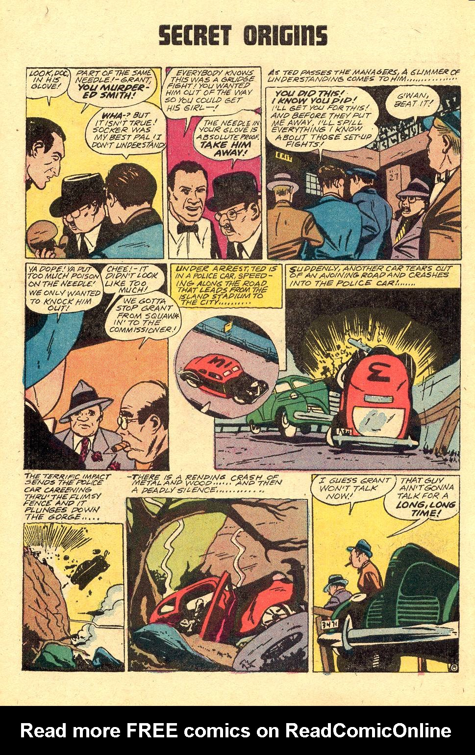 Read online Secret Origins (1973) comic -  Issue #3 - 29