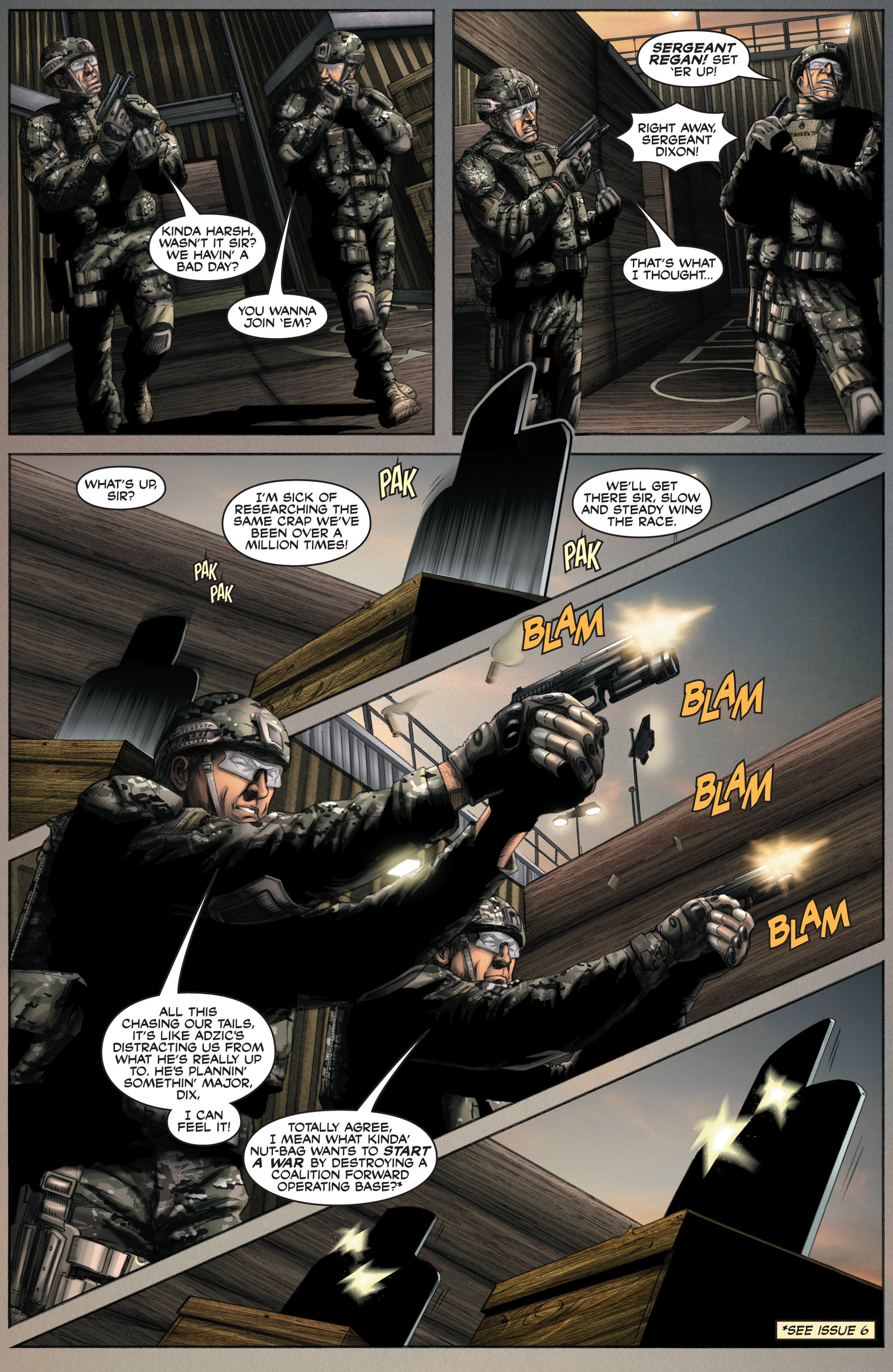 Read online America's Army comic -  Issue #8 - 8