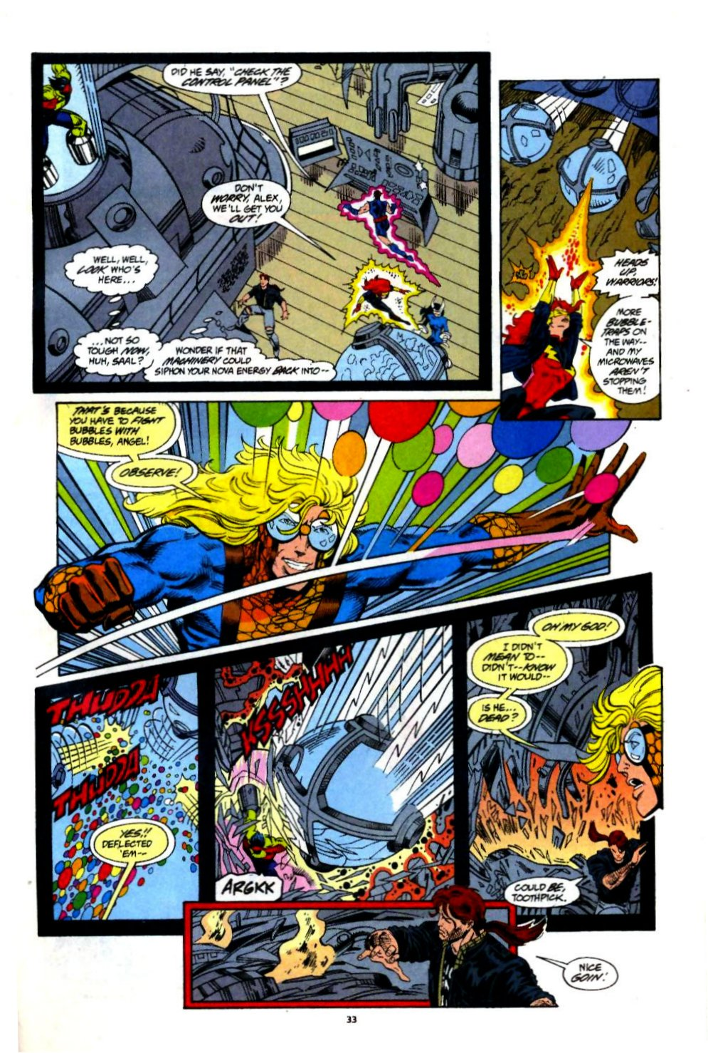 The New Warriors Issue #60 #64 - English 25