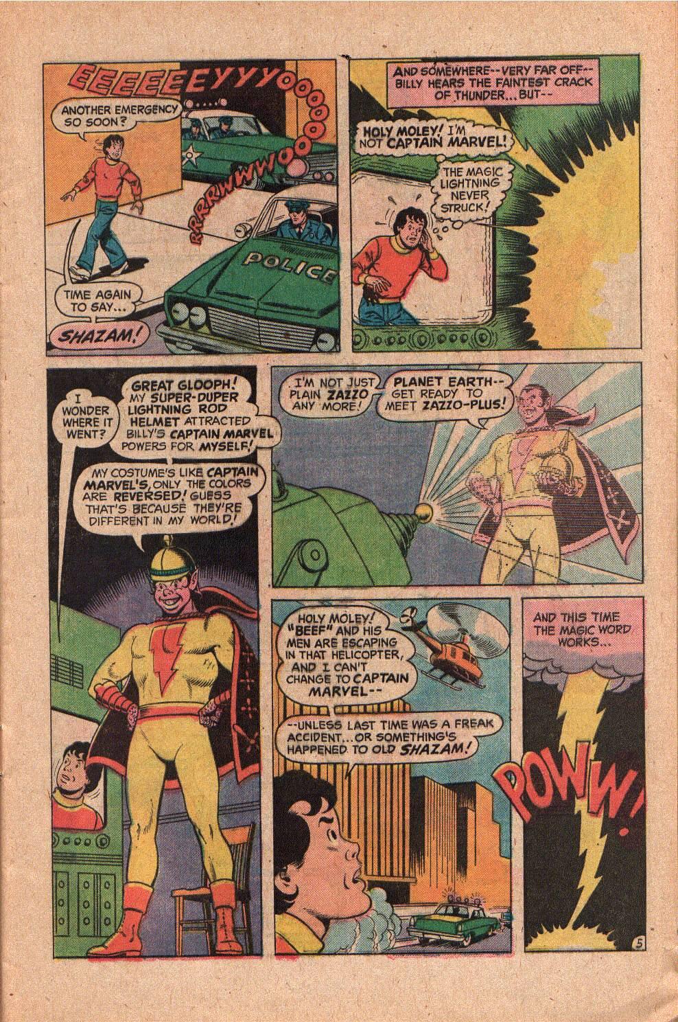 Read online Shazam! (1973) comic -  Issue #19 - 9
