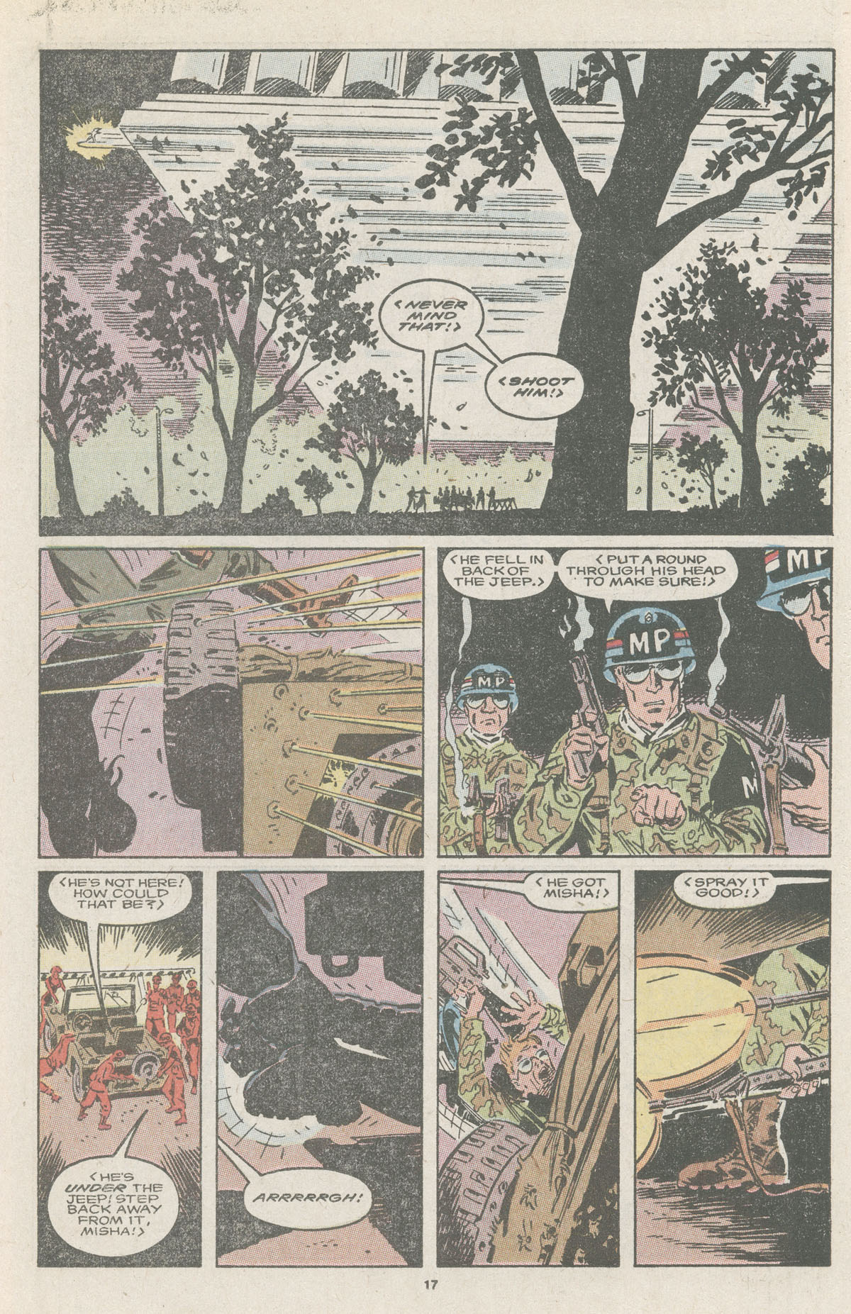 Read online Nth Man the Ultimate Ninja comic -  Issue #11 - 19