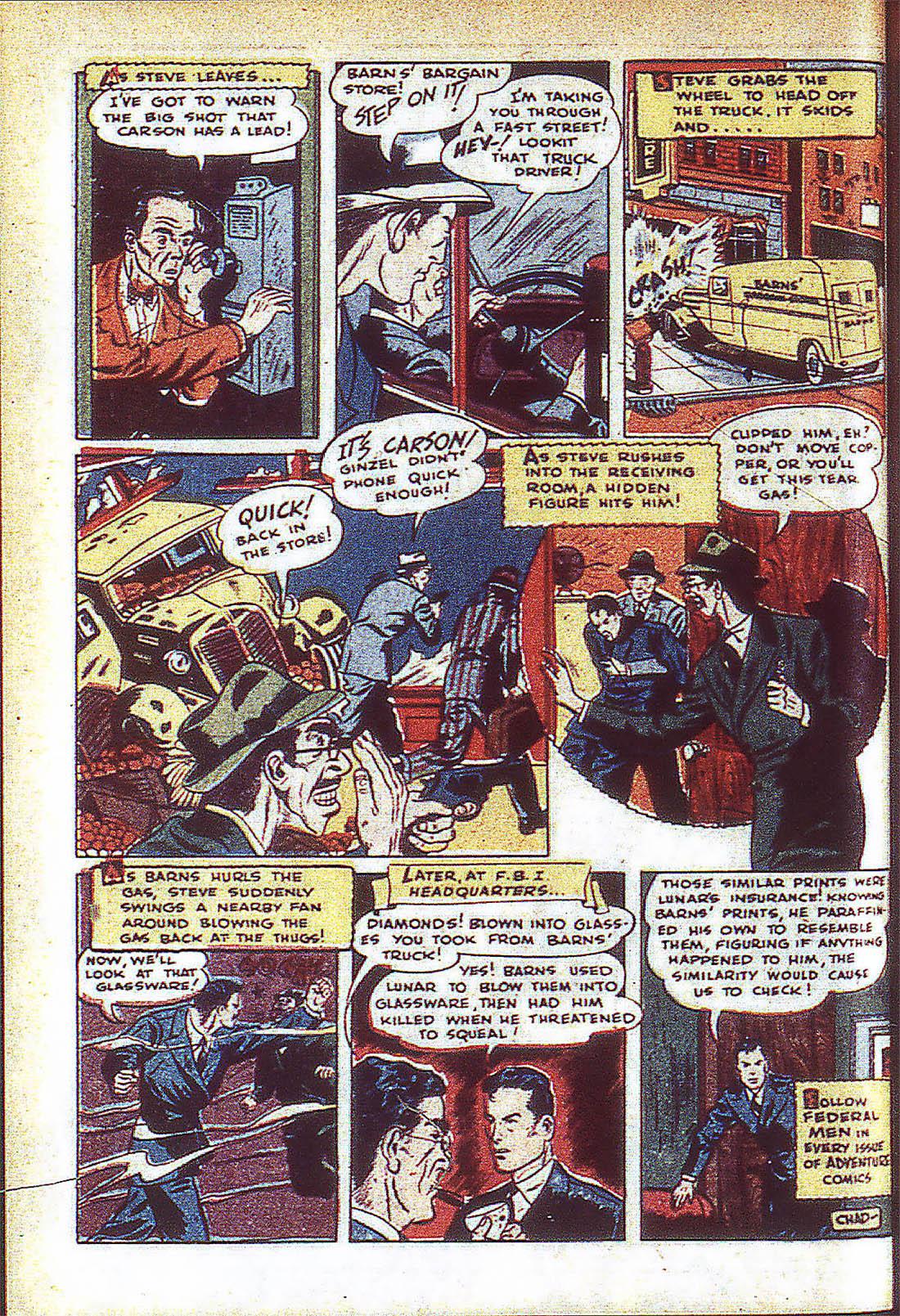 Read online Adventure Comics (1938) comic -  Issue #59 - 31