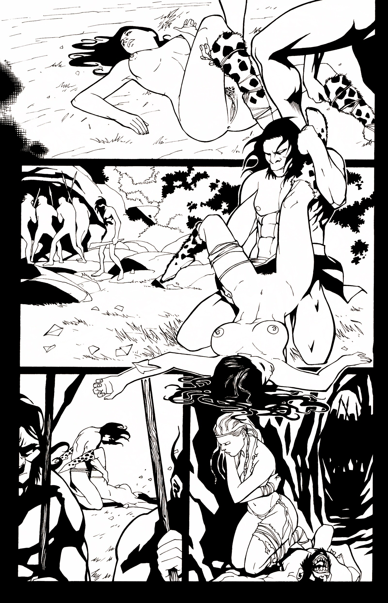 Read online Jungle Fantasy (2002) comic -  Issue # _Annual 1 - 25