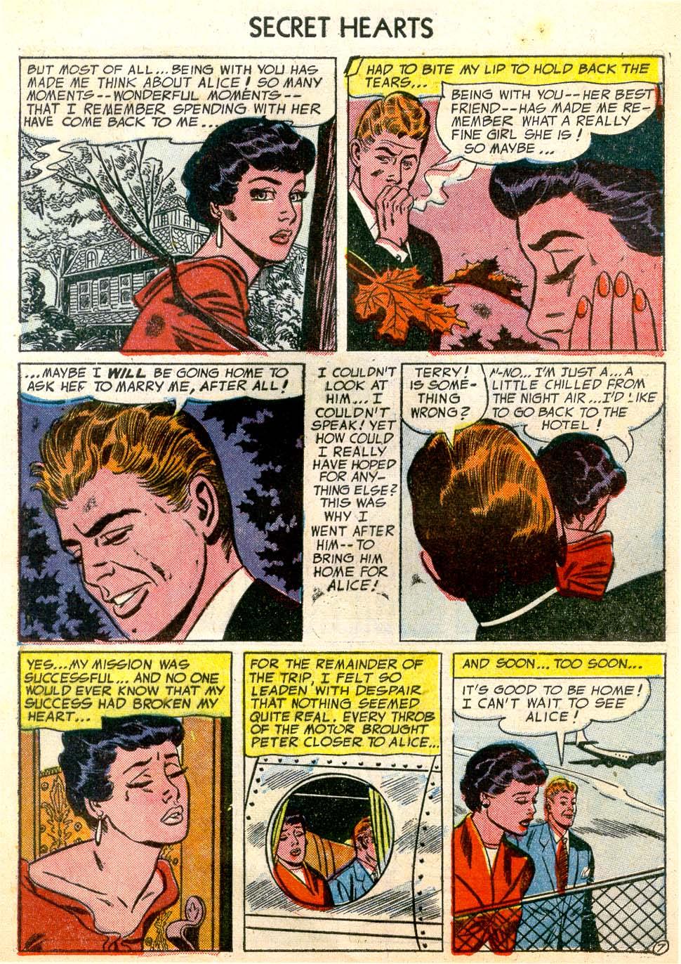Read online Secret Hearts comic -  Issue #26 - 9