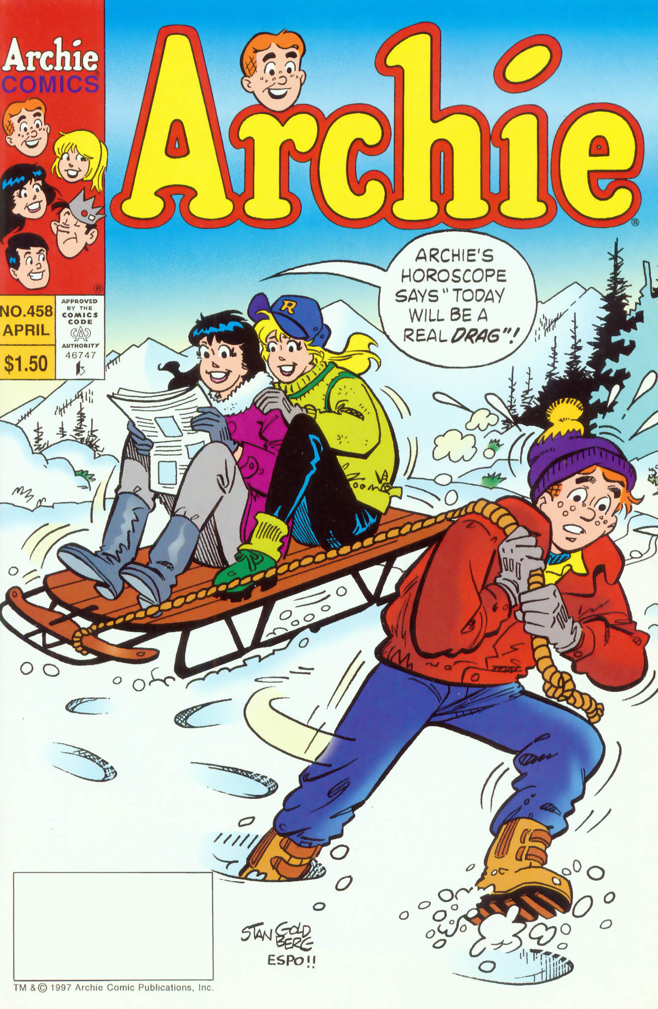 Read online Archie (1960) comic -  Issue #458 - 1