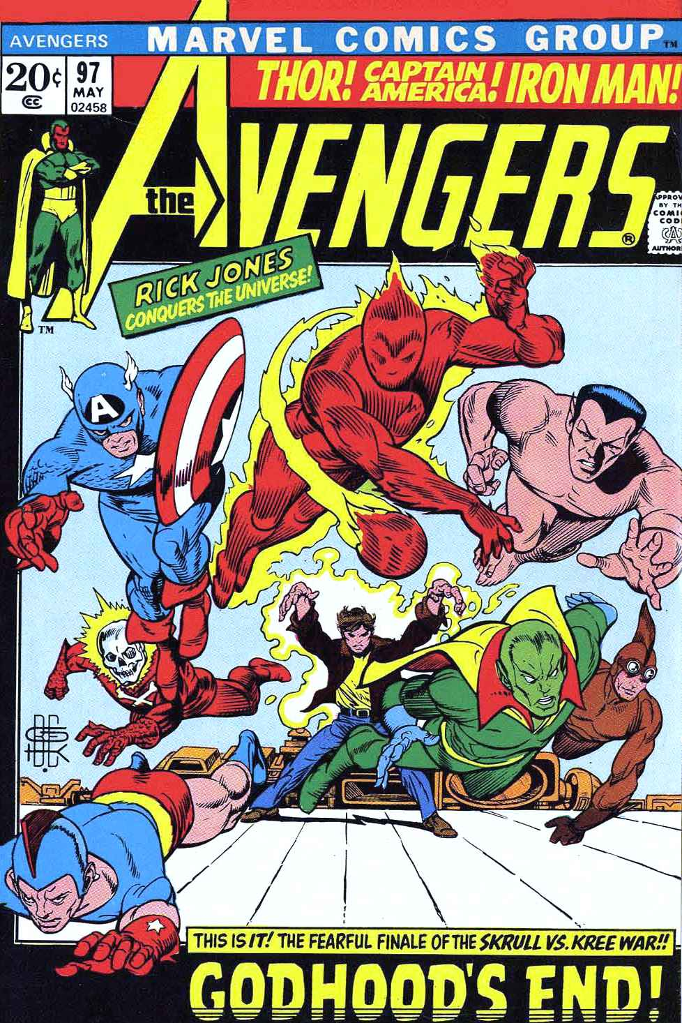 The Avengers (1963) 97 Page 1