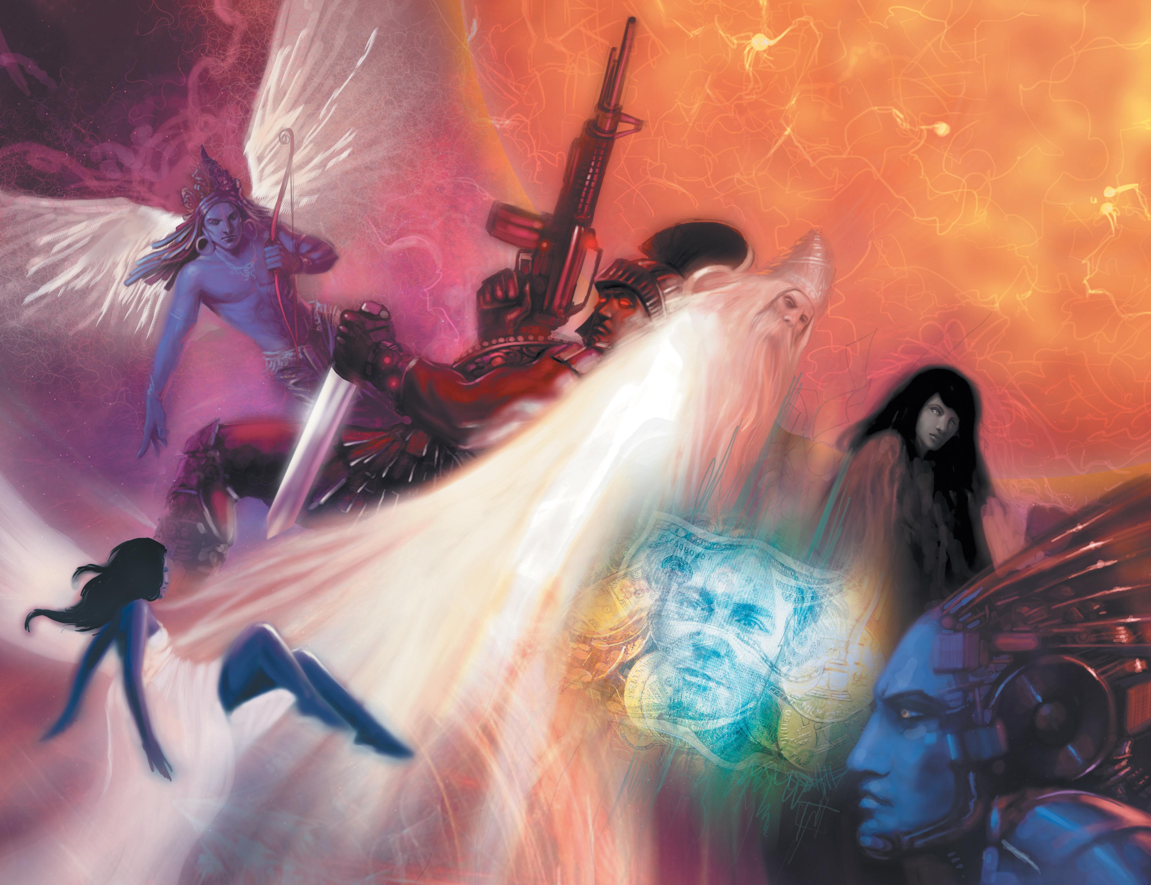 Read online Shekhar Kapur's Devi: Rebirth comic -  Issue #5 - 4