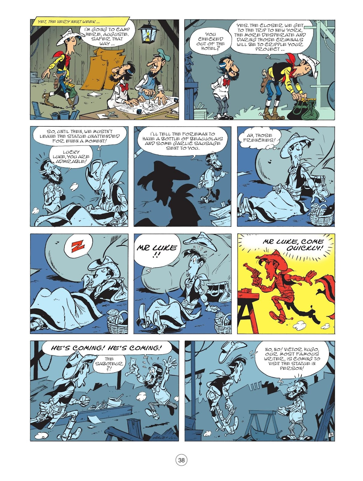 A Lucky Luke Adventure issue 71 - Page 40
