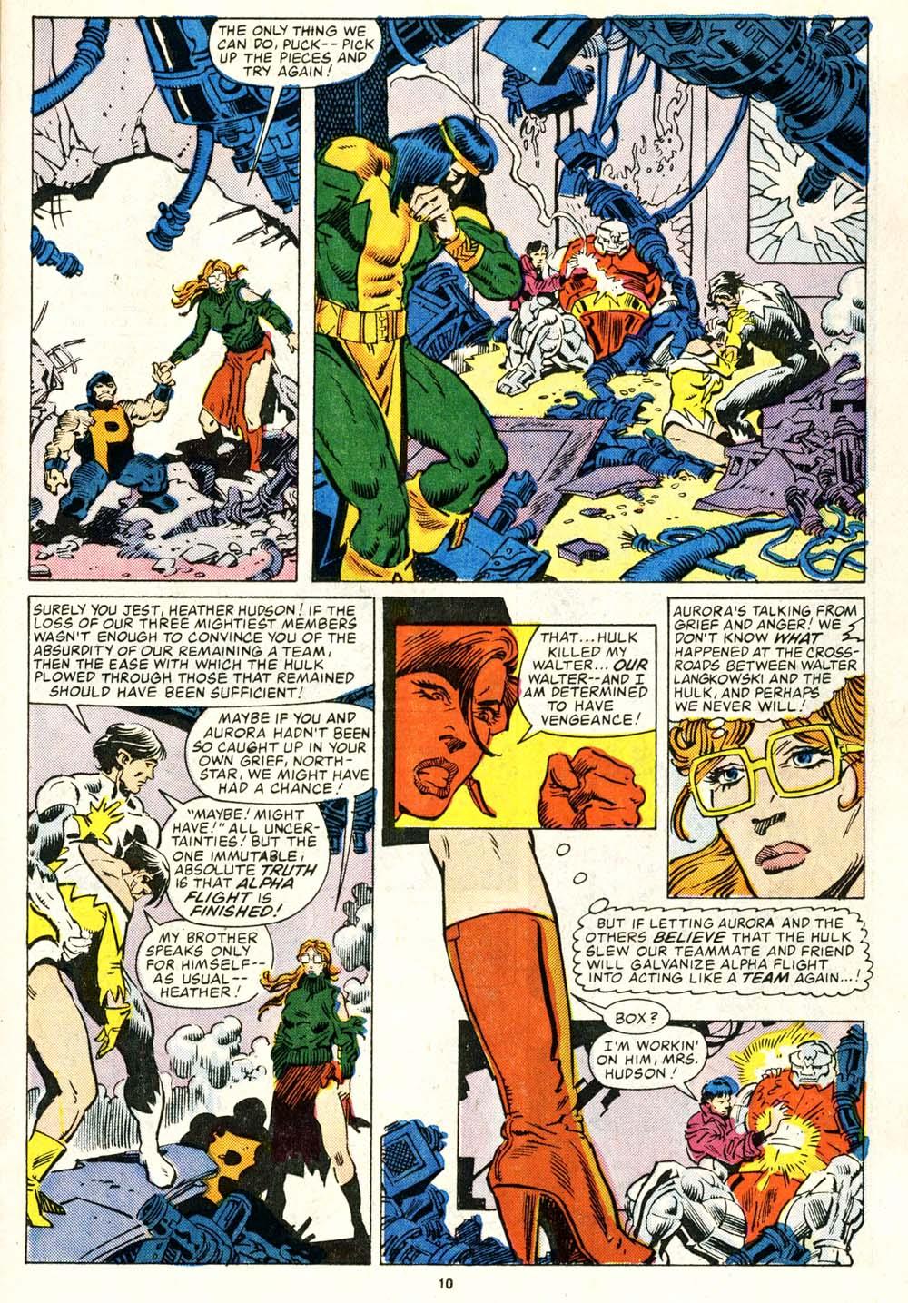 Read online Alpha Flight (1983) comic -  Issue #29 - 10