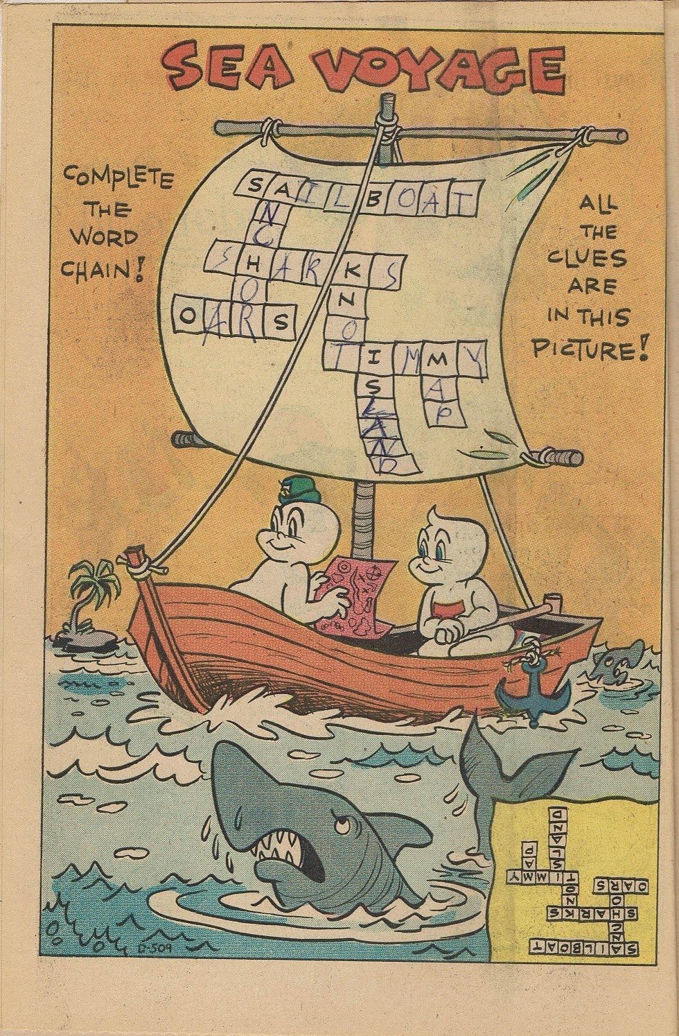 Read online Timmy the Timid Ghost comic -  Issue #21 - 6