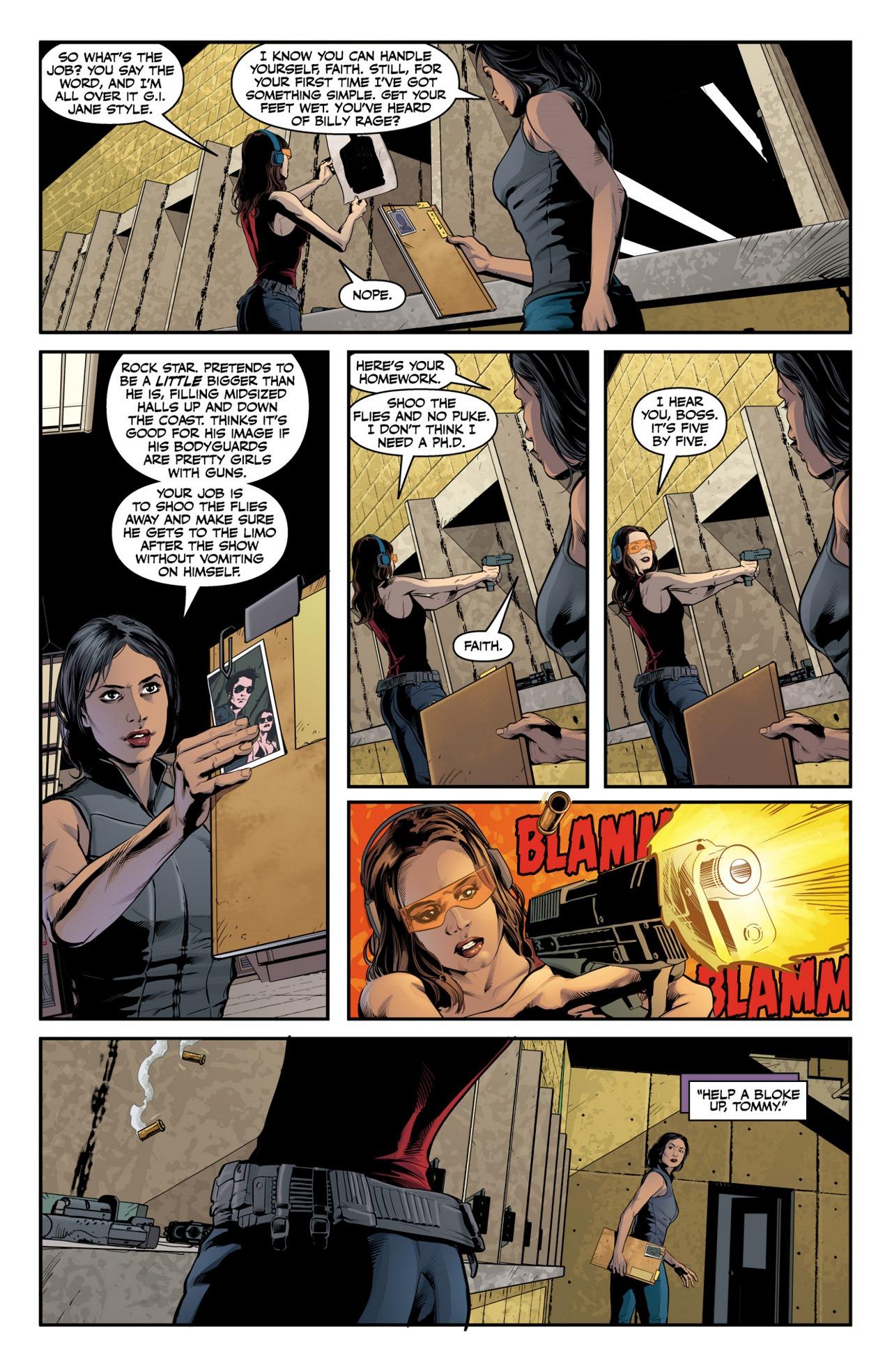 Read online Angel & Faith Season 10 comic -  Issue #2 - 15