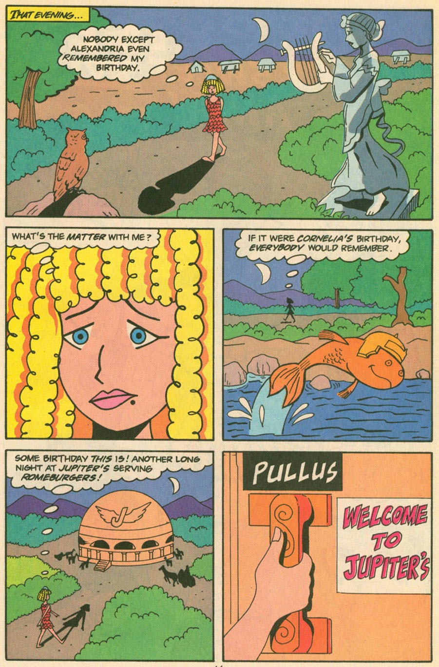 Read online Sweet XVI (Sixteen): Back To School Special comic -  Issue # Full - 53