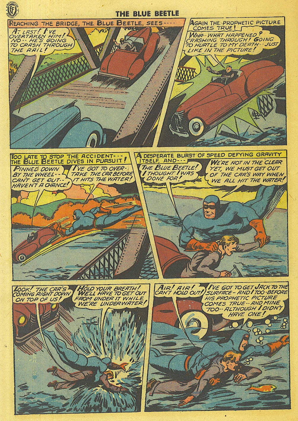 The Blue Beetle issue 35 - Page 7