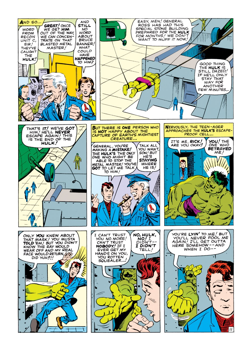 Read online Marvel Masterworks: The Incredible Hulk comic -  Issue # TPB 1 (Part 2) - 40