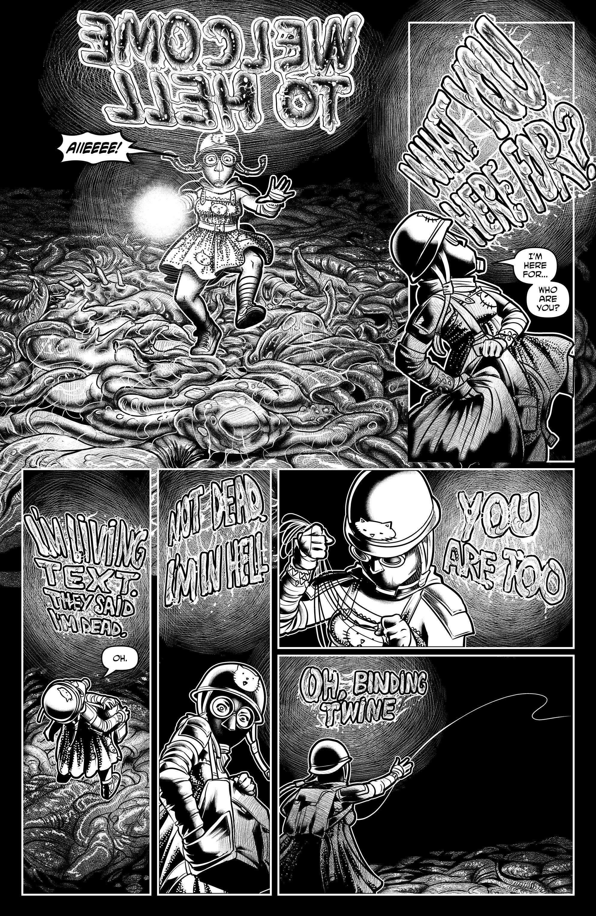 Read online Alan Moore's Cinema Purgatorio comic -  Issue #7 - 28