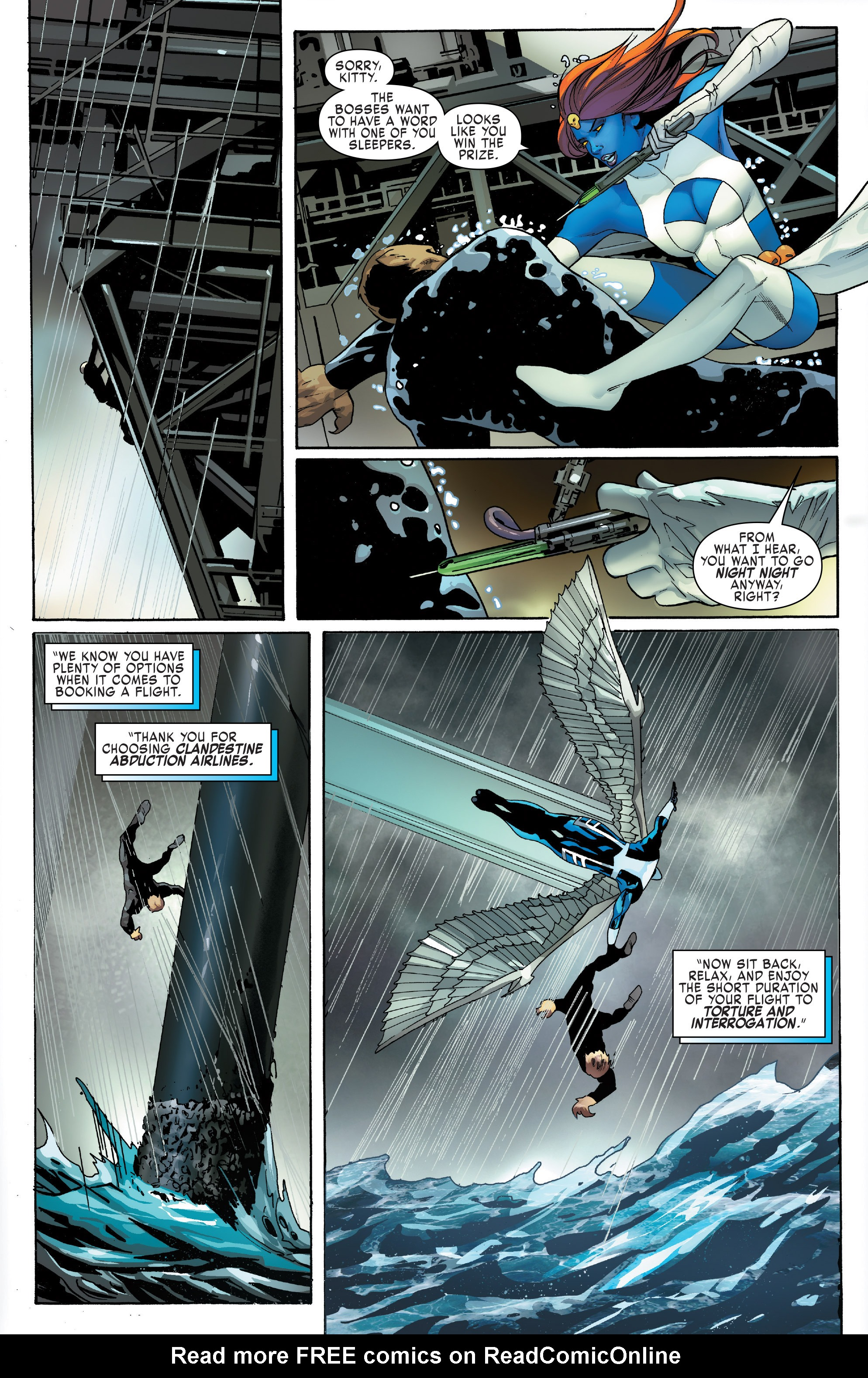 Read online Uncanny X-Men (2016) comic -  Issue #13 - 6