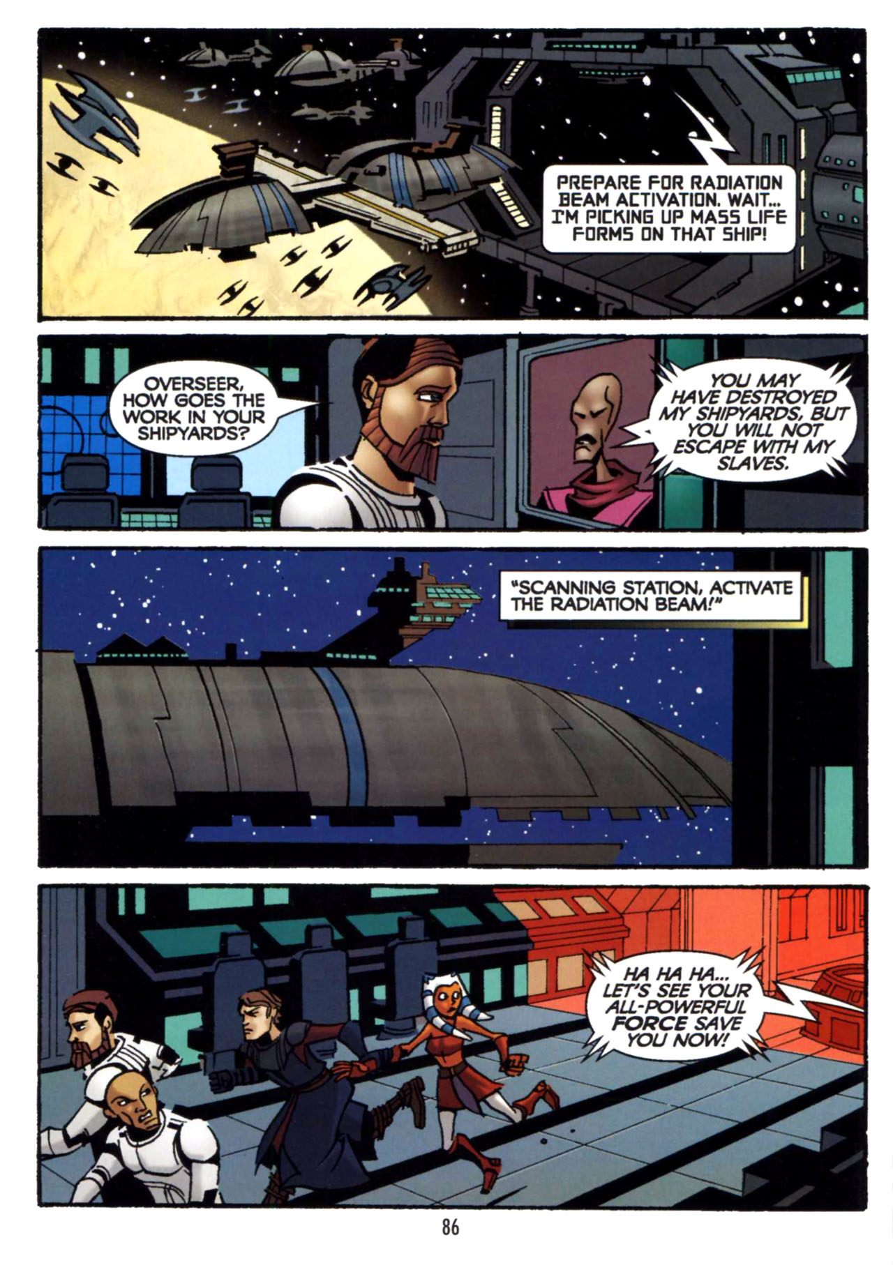 Read online Star Wars: The Clone Wars - Shipyards of Doom comic -  Issue # Full - 84