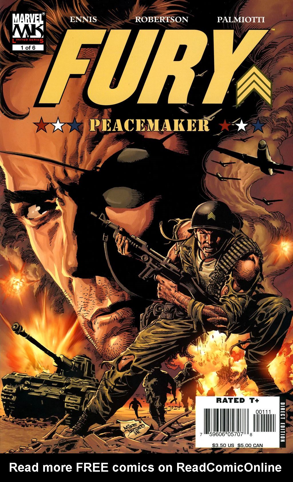 Fury: Peacemaker 1 Page 1