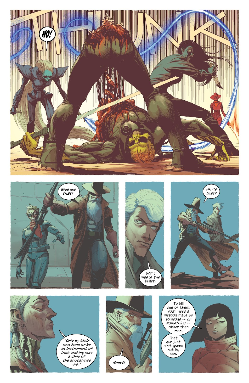 Read online East Of West comic -  Issue #42 - 14
