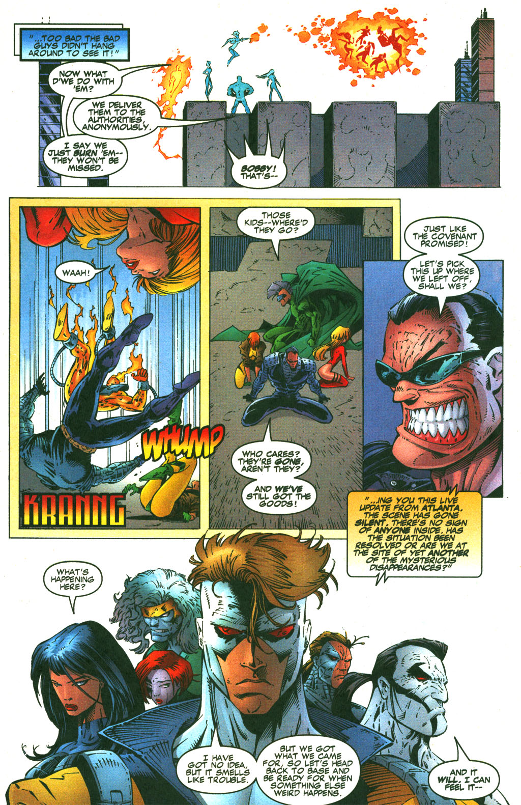 Read online Shattered Image comic -  Issue #1 - 20