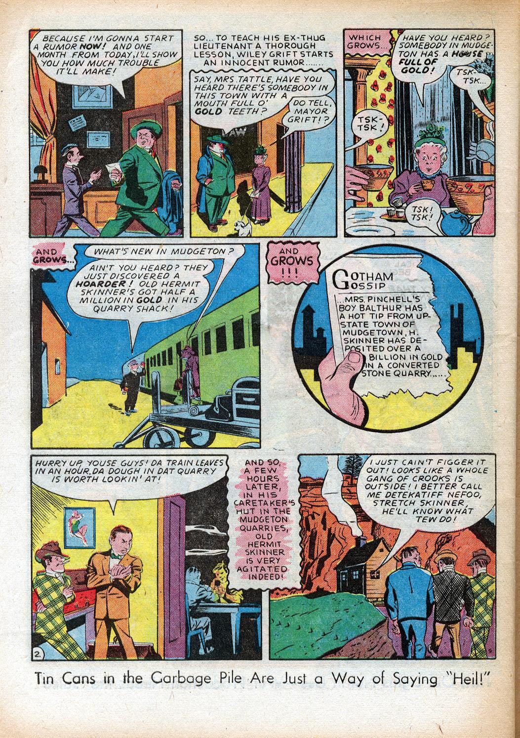 Read online Sensation (Mystery) Comics comic -  Issue #33 - 42