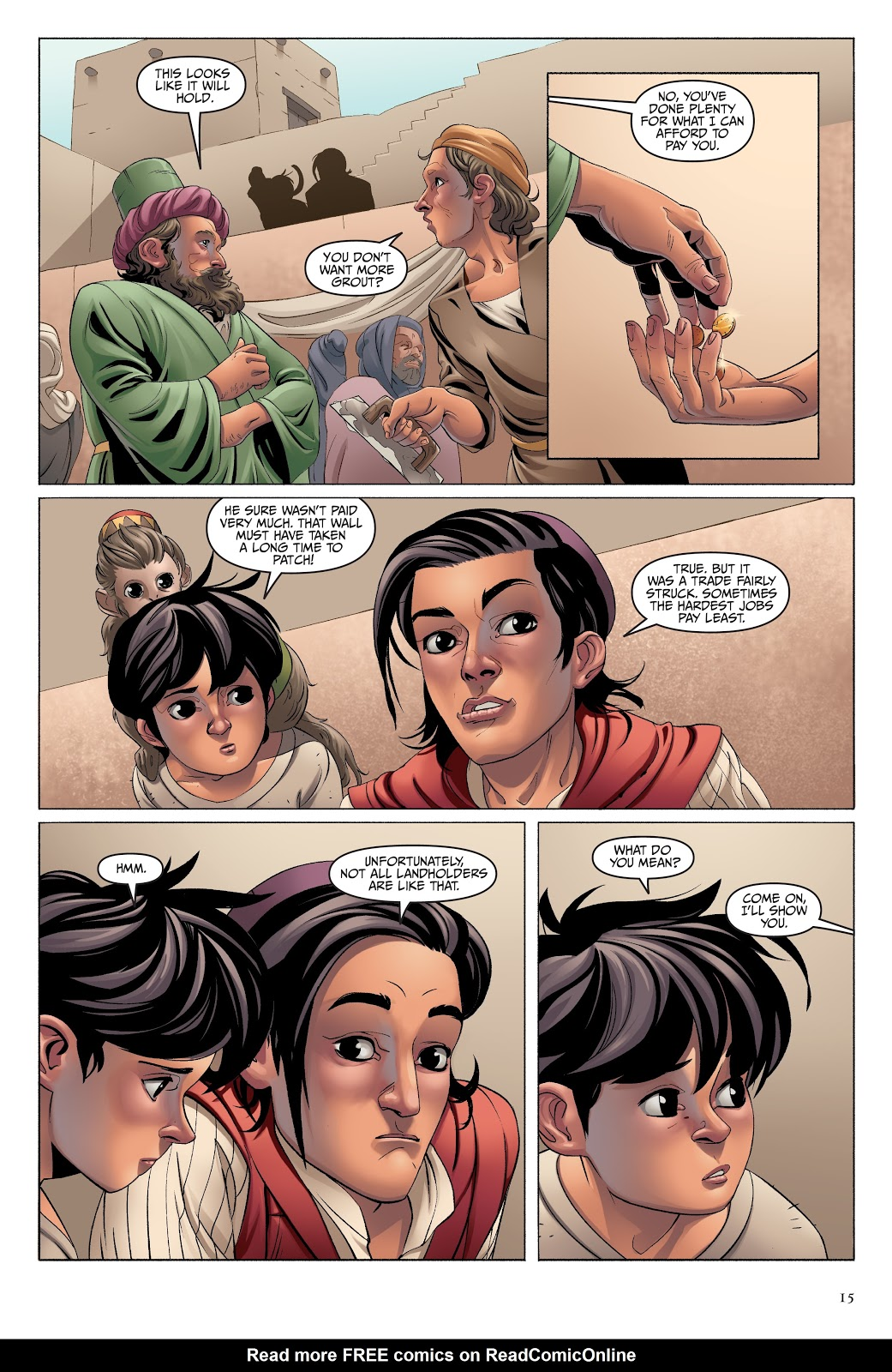 Read online Disney Aladdin: Four Tales of Agrabah comic -  Issue # TPB - 15