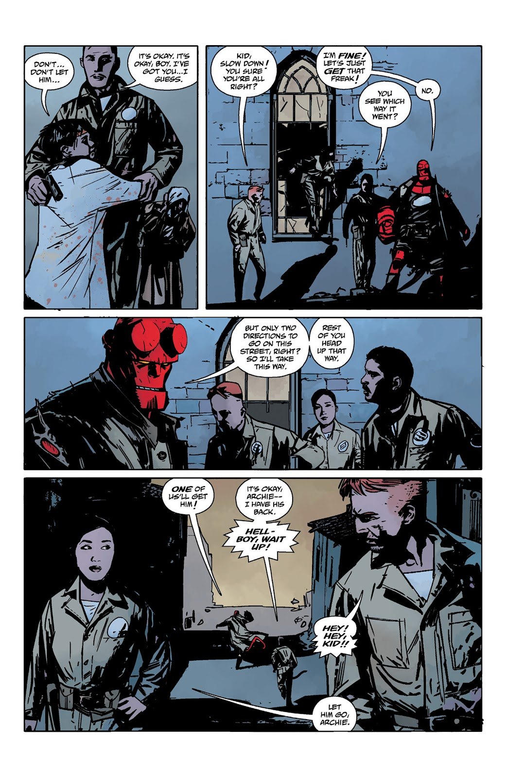 Read online Hellboy and the B.P.R.D. comic -  Issue # _TPB - 51