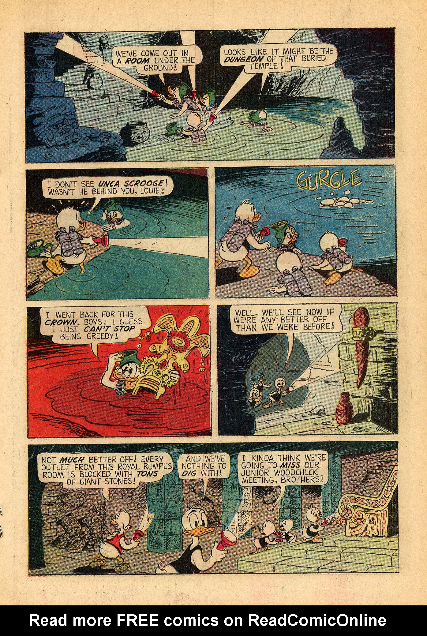 Read online Uncle Scrooge (1953) comic -  Issue #44 - 19