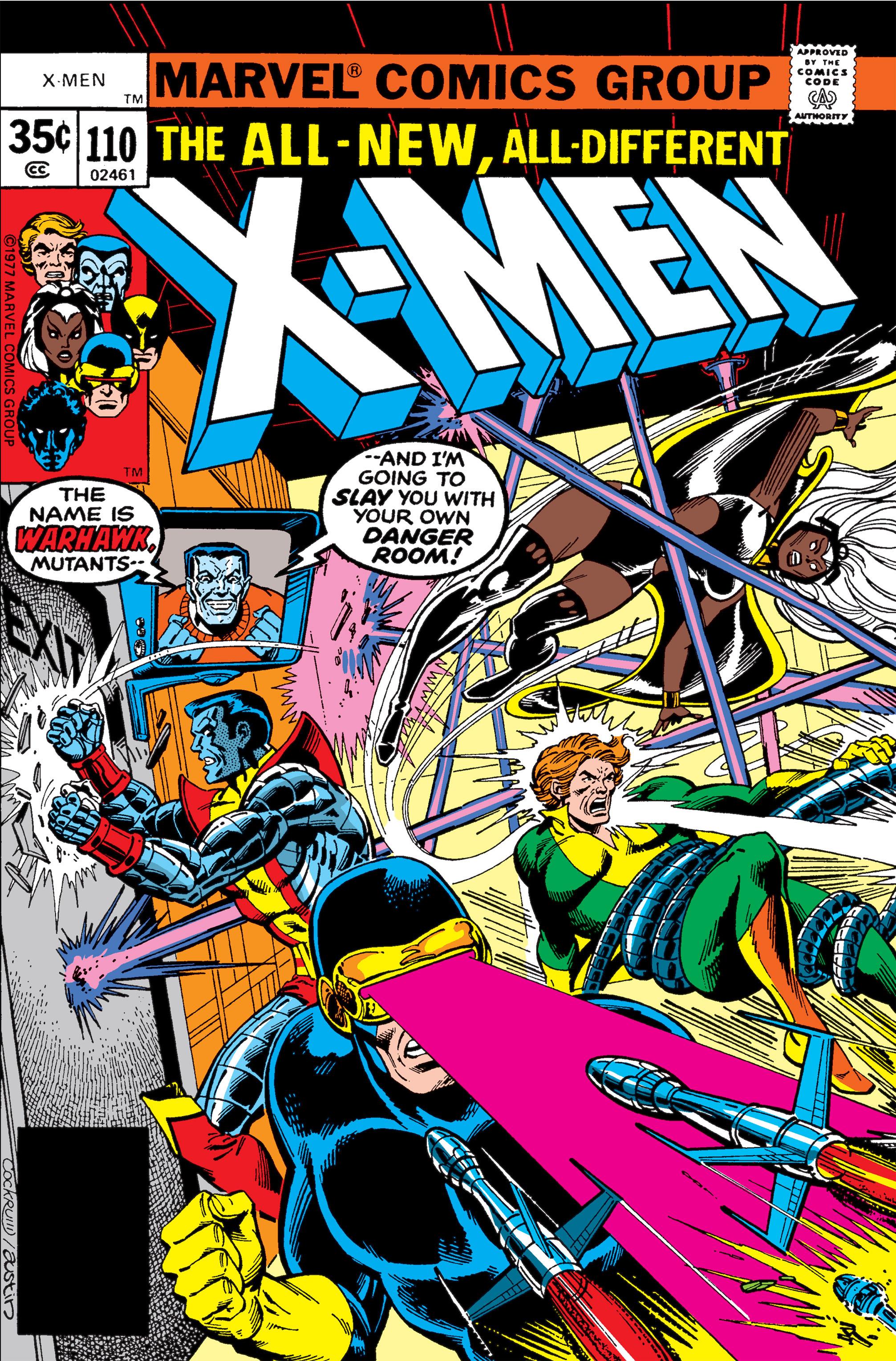 Uncanny X-Men (1963) 110 Page 1