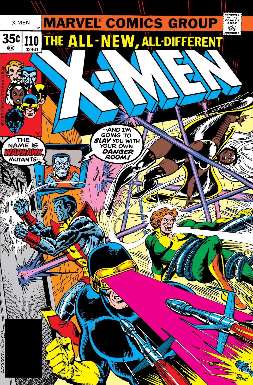 Uncanny X-Men (1963) issue 110 - Page 1