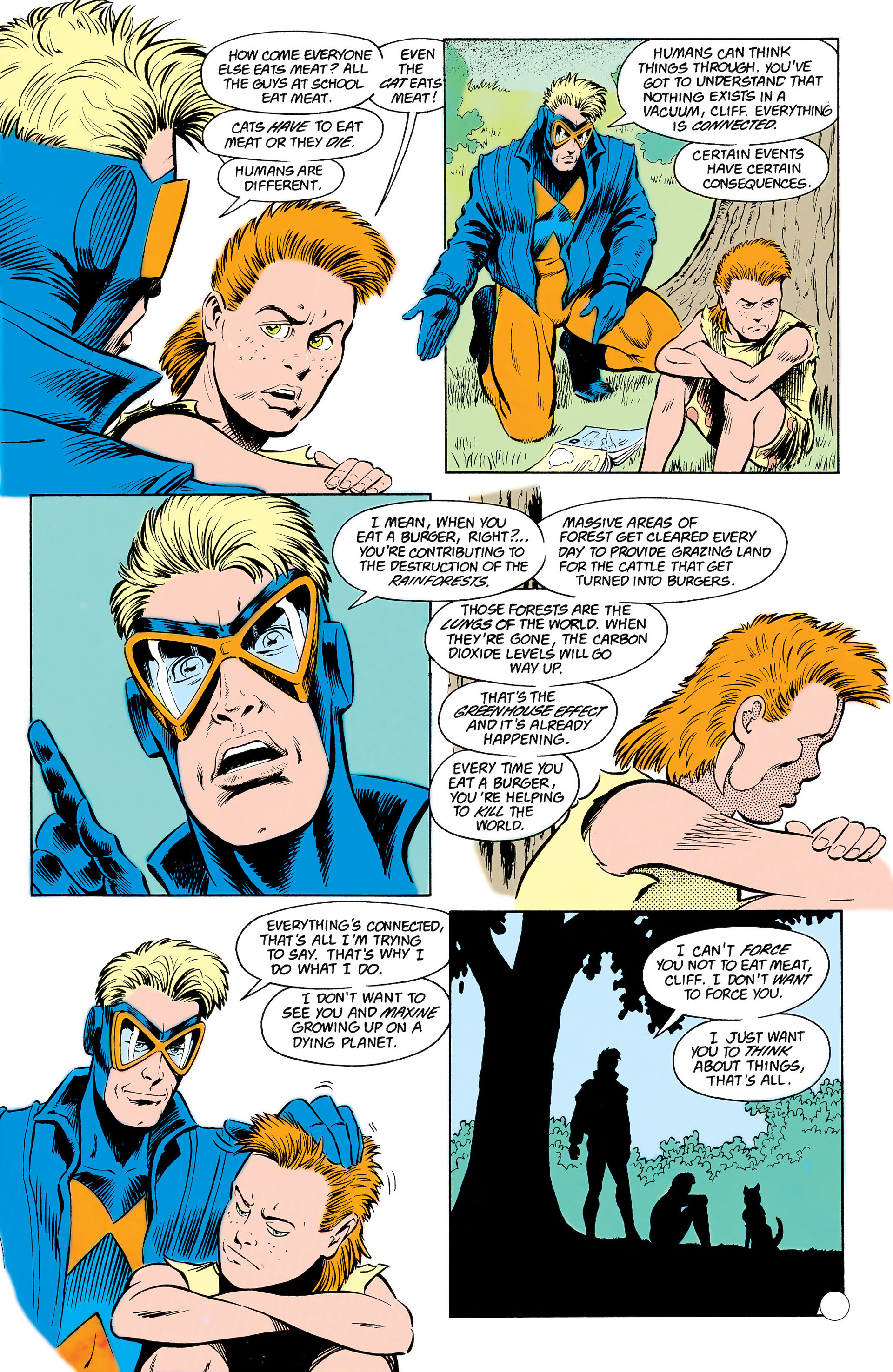 Read online Animal Man (1988) comic -  Issue #17 - 11