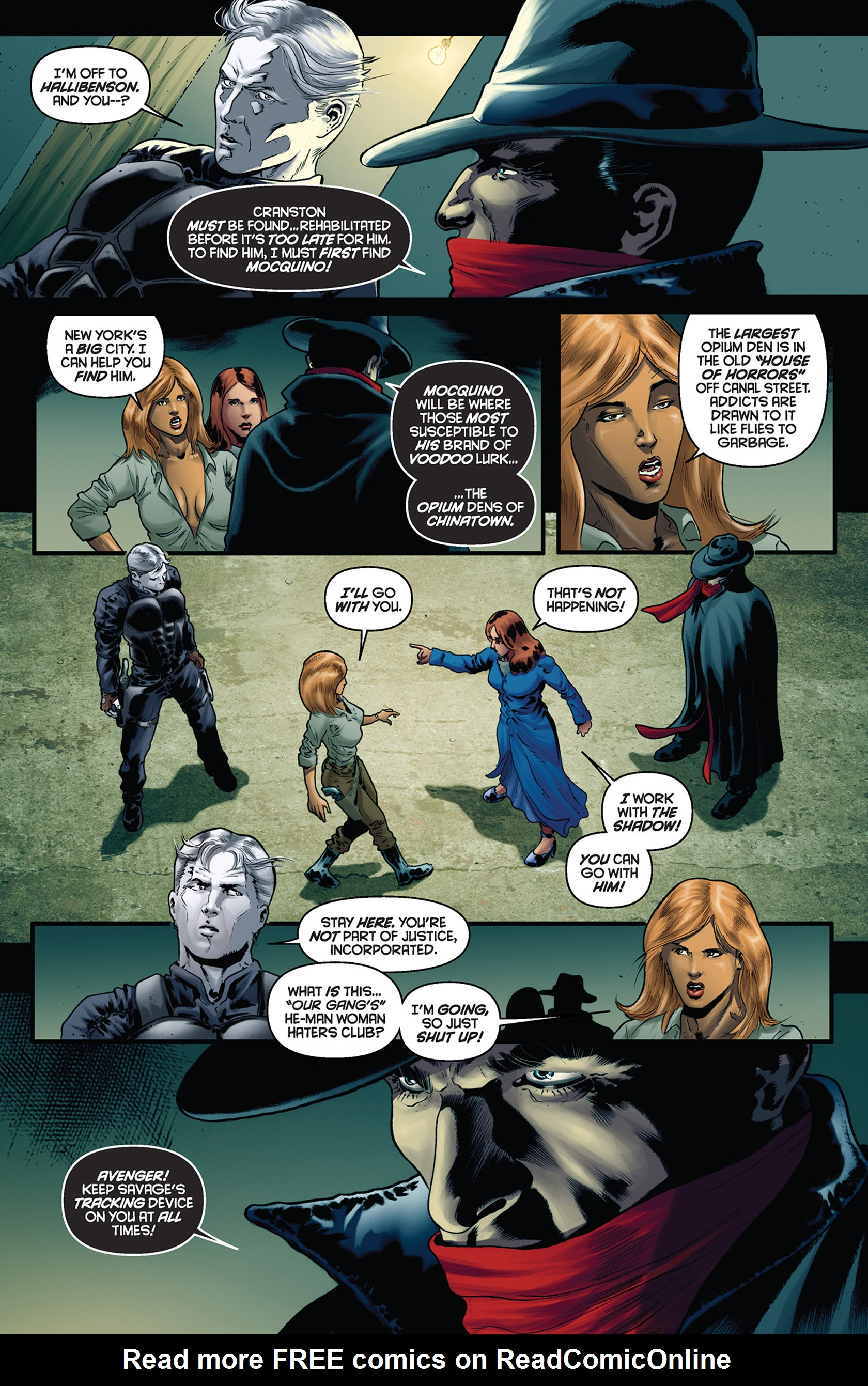 Read online Justice, Inc. comic -  Issue #5 - 11